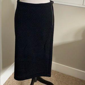 Loft Zipper Pencil Skirt - Medium